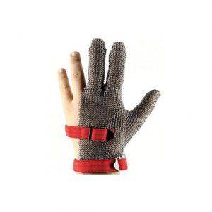 3 parmak çelik eldiven
