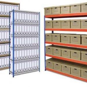 klasör ve kutu raf sistemleri