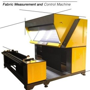 platformlu kumaş kontrol metraj makinası
